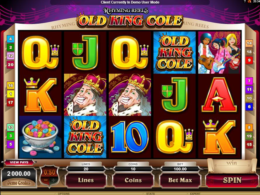 Rhyming Reels–Old King Cole