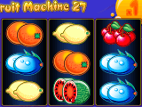 Casino automat Fruit Machine 27 zdarma online
