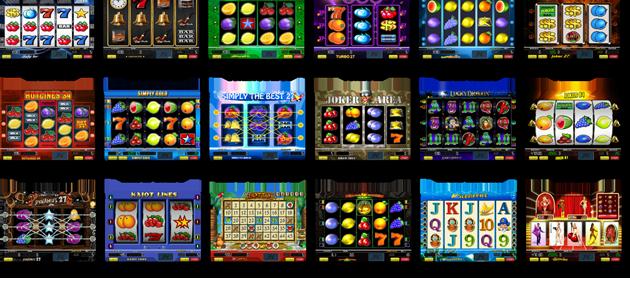 Automaty v Kajot kasínu