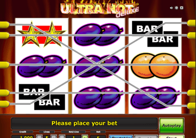 obrázek automatu Ultra Hot Deluxe online zdarma