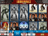 Hrací casino automat Iron Man 2 - 50 Lines