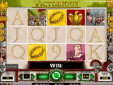 obrázek automatu Victorious online zdarma