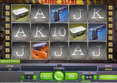 online automat Crime Scene zdarma