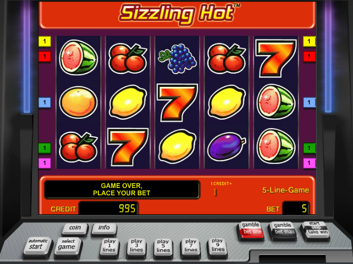 online merkur casino sizzling hot play