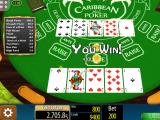 automat Caribbean Stud Poker online zdarma
