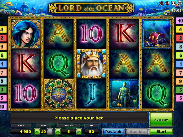 online casino merkur lord of ocean