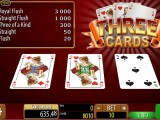 online automat zdarma Three Cards