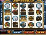 hrací online automat Arctic Fortune zdarma