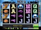 hrací automat Rex online zdarma