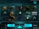 hrací online automat Aliens zdarma