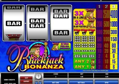 výherní automat Blackjack Bonanza online zdarma