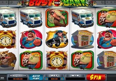 online výherní automat Bust the Bank zdarma