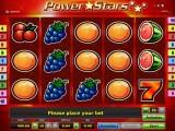 hrací online automat Power Stars zdarma