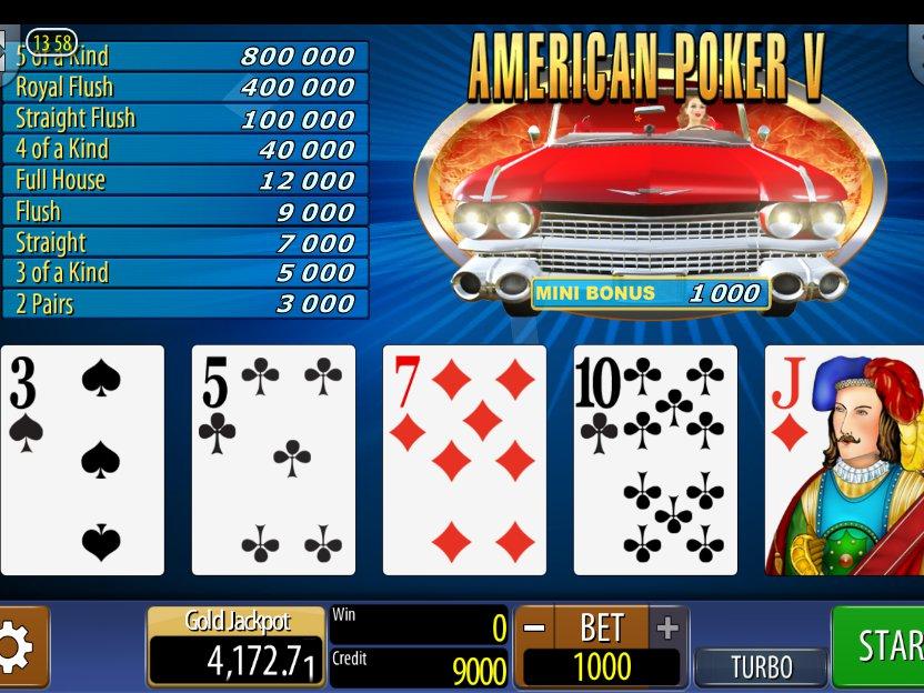 american poker online automat