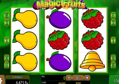 Zdarma online výherní automat Magic Fruits