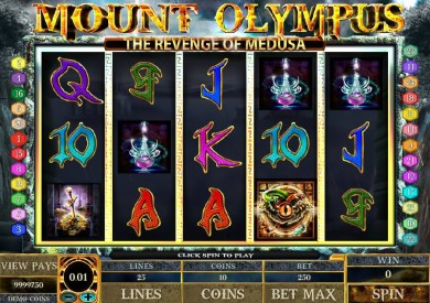 Hrací automat Mount Olympus online zdarma