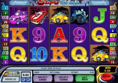 Herní automat Supe it Up online zdarma