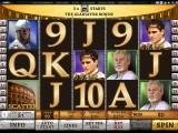 Online automat zdarma Gladiator od společnosti Playtech