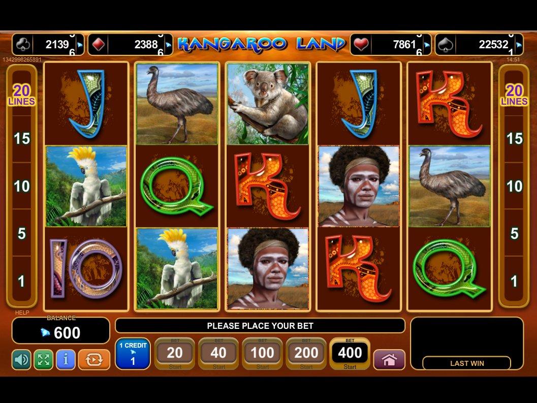 casino online italiani kangaroo land