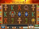 Herní online automat Riches of ra bez registrace