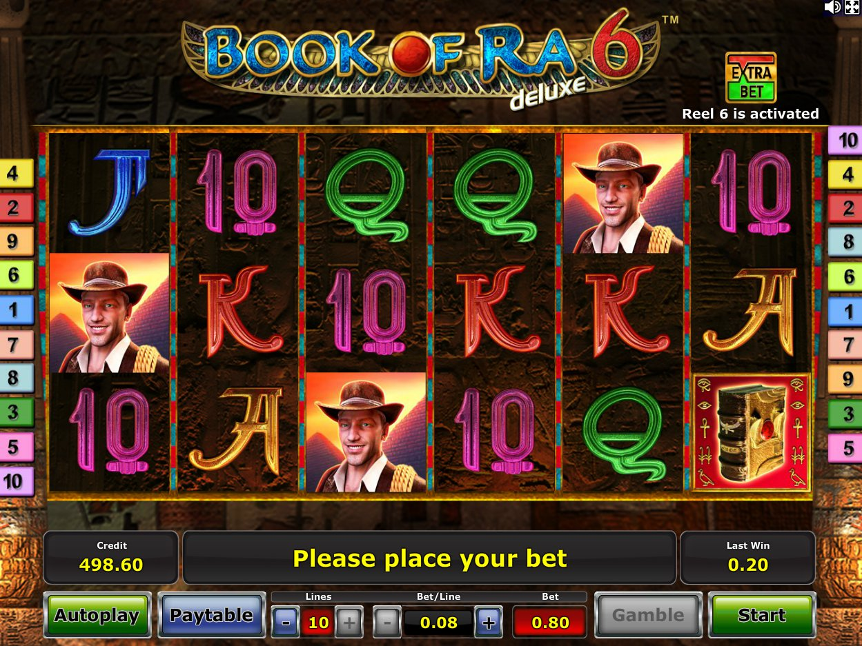 casino online book of ra automat