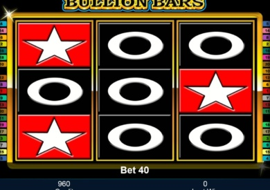 Casino automat Bullion Bars zdarma