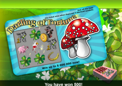 Online casino automat Darling of Fortune bez registrace
