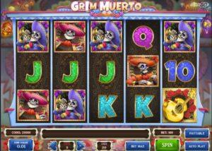 Hrací automat Grim Muerto v mr.green casino