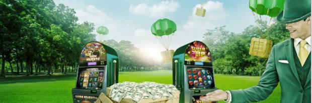 Bonusá akce u Mr. Green kasíno
