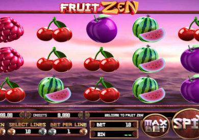 Casino automat Fruit Zen bez registrace