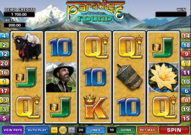 Casino hrací automat Paradise Found zdarma