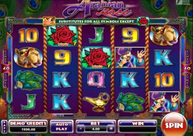 Výherní automat Arabian Rose zdarma