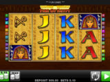 Casino automat Fire of Egypt zdarma
