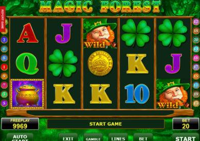Online casino automat Magic Forest zdarma