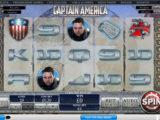 Roztočte online automat Captain America zdarma