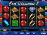 Obrázek z herního automatu Cool Diamods II