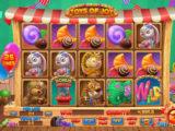Online casino automat Toys of Joy pro zábavu
