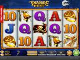 Obrázek z online casino automatu Treasure Hunt