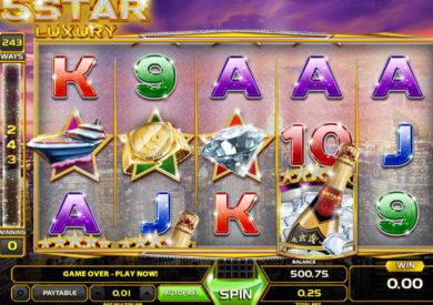 Online casino automat 5 Star Luxury zdarma