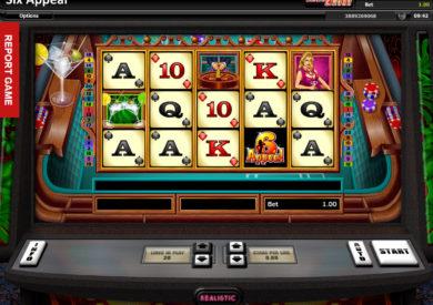 Online casino automat 6 Appeal bez vkladu