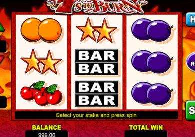 Herní automat 7's to Burn zdarma, bez vkladu