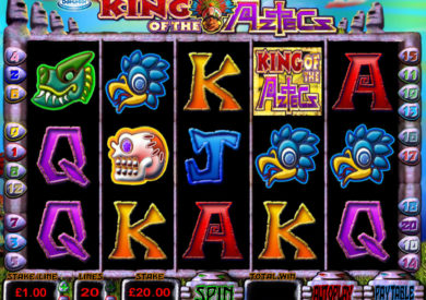 Online casino automat King of the Aztecs zdarma