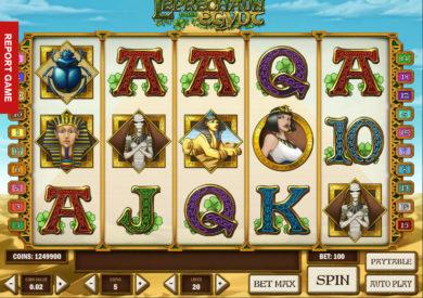 Online herní automat Leprechaun Goes Egypt bez stahování
