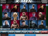 Obrázek z online automatové casino hry X-Men 50 Lines