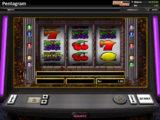 Zábavný herní automat Pentagram bez vkladu