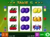 Online casino automat Take 5 zdarma od společnosti Bally Wulff