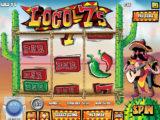 Casino automat Loco 7's bez stahování