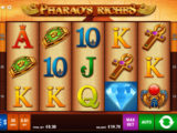 Casino automat Pharao's Riches zdarma