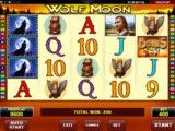 Zahrajte si online casino automat Wolf Moon zdarma