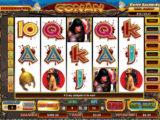 Obrázek ze hry automatu Conan the Barbarian zdarma